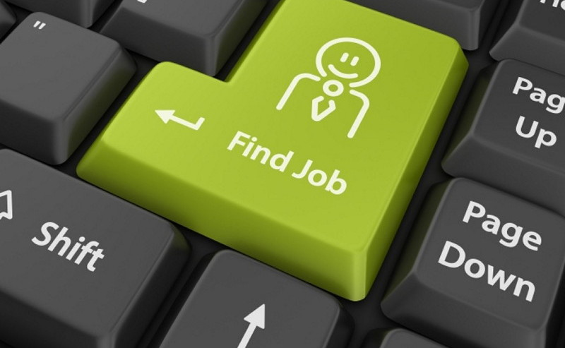 Job search button