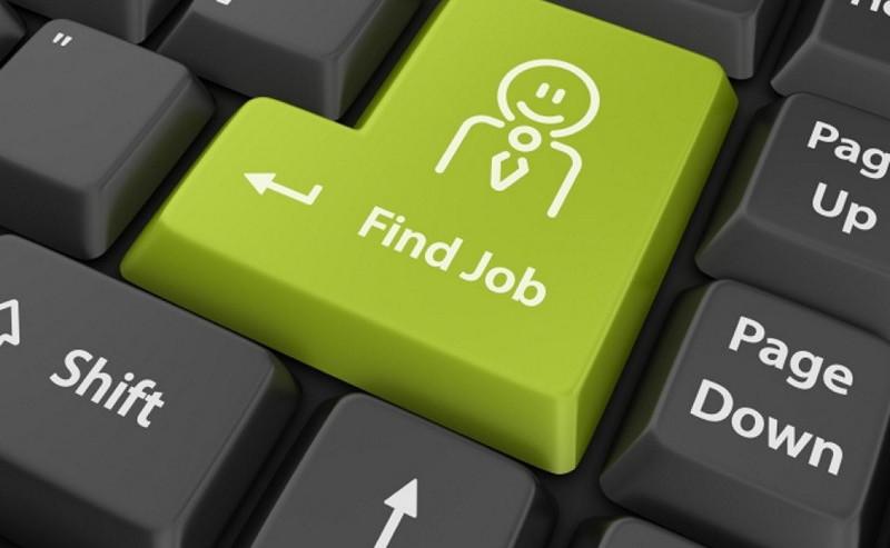 Job search button