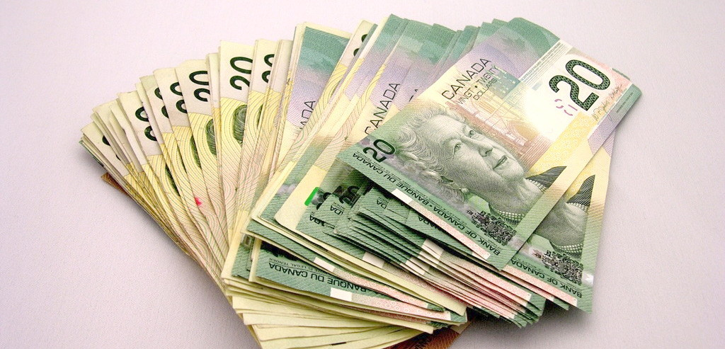 Canadian cash money