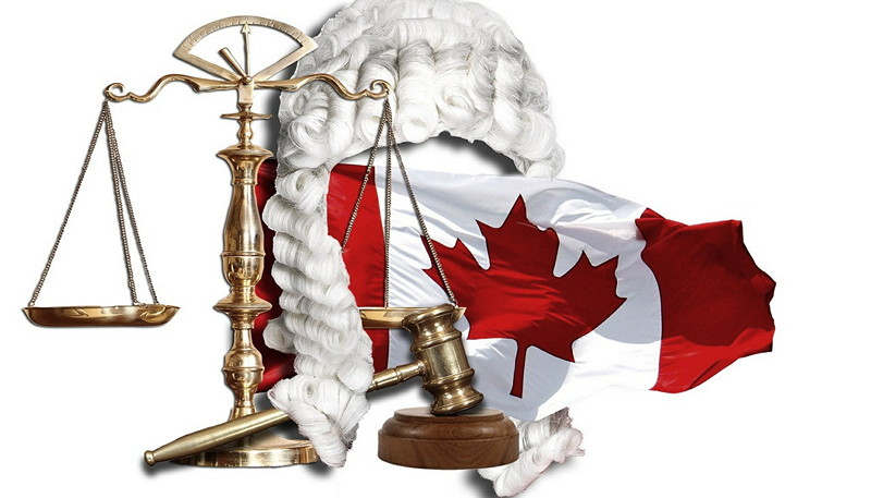 Symbols of Canadian justice