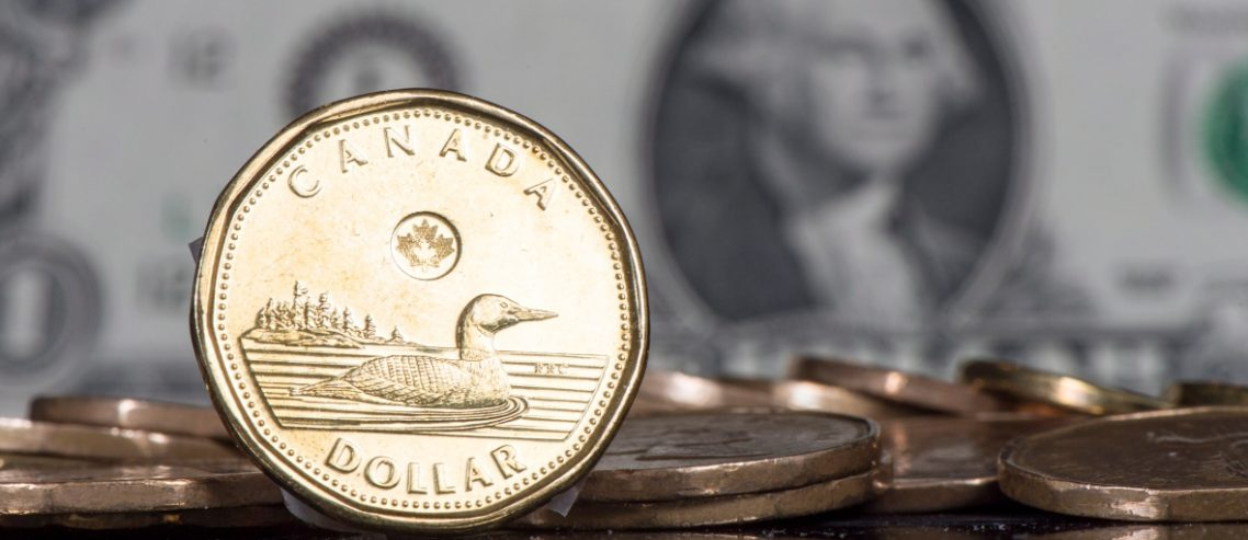 Canadian dollar coin, loonie